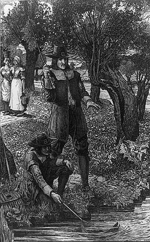 """Izaak Walton and his scholar"" by Am..."