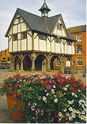 English: Old Grammar School, Market Harborough...