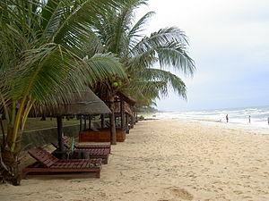 Français : La plage à Phu Quoc