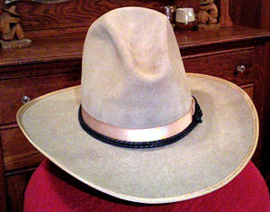 English: 1920s Stetson carlsbad cowboy hat