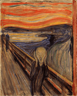The Scream by Edvard Munch, 1893 - Nasjonalgalleriet