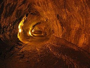English: Thurston Lava Tube, Hawai'i Volcanoes...