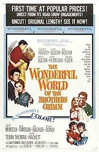 Poster do filme O Mundo Maravilhoso dos Irmãos Grimm