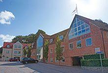 Østjydsk Banks hovedsæde på Østergade i Mariager