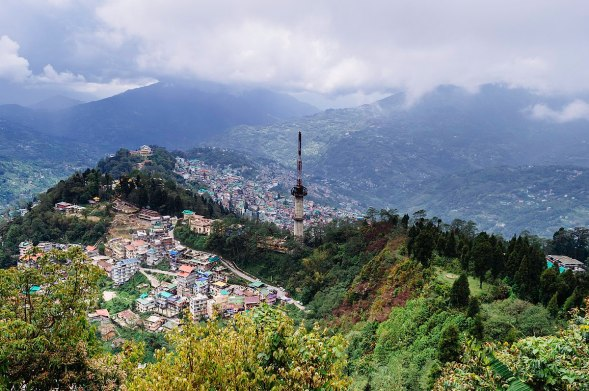 Image of gangtok in Sikkim