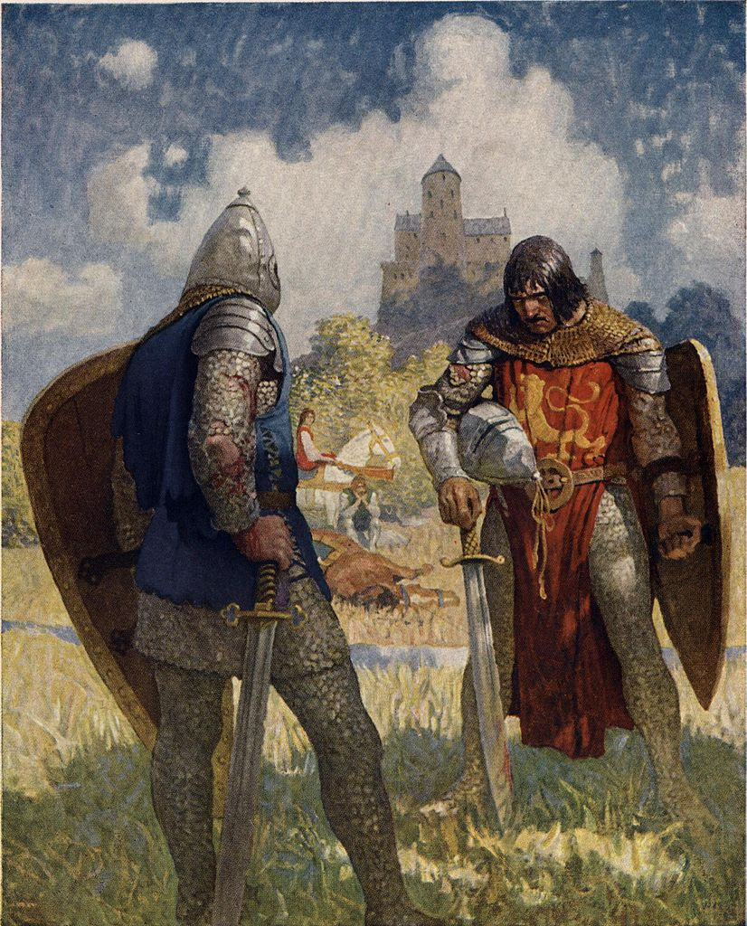 Arthur and Lancelot