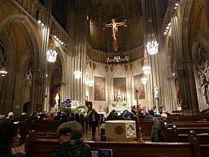Church Of The Blessed Sacrament Manhattan Wikipedia