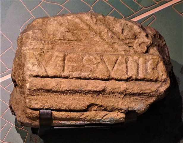 Inscription from the Roman Baths - - www.joyofmuseums.com - Roman Baths (Bath)