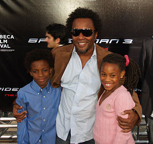 Lee Daniels and children