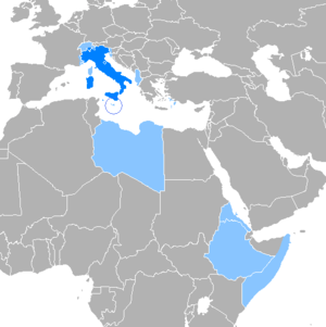 Italian language in the world. Español: Idioma...