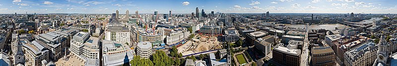 Plik:London 360 from St Paul's Cathedral - Sept 2007.jpg