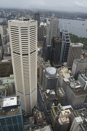 English: MLC Centre in Sydney. View from Sydne...