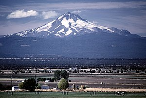 Mount Jefferson, Cascade Range, Oregon, United...