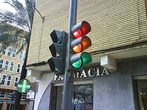 Heeding the traffic light