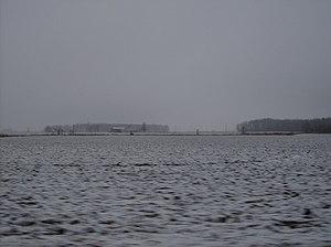 Snow in Greene Township, Jay County, Indiana