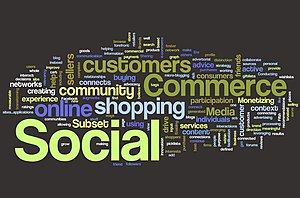 Wordle Cloud Definition of Social Commerce - A...