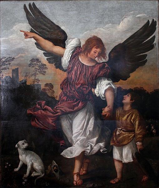 File:Titian - L'arcangelo Raffaele e Tobiolo.jpg