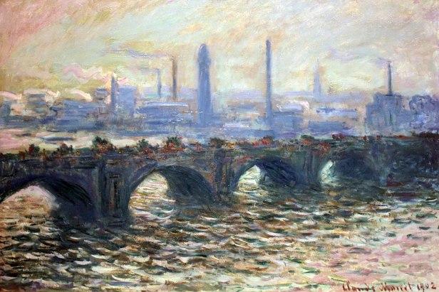 """""""Waterloo Bridge"""" by Claude Monet"""