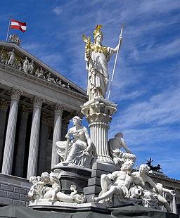 Austria Parlament Athena (jha)