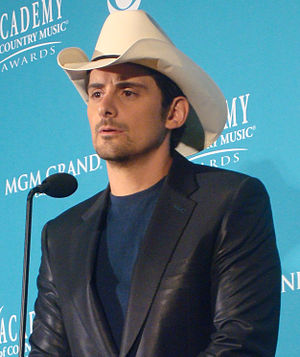 English: Brad Paisley at the 45th Annual Acade...