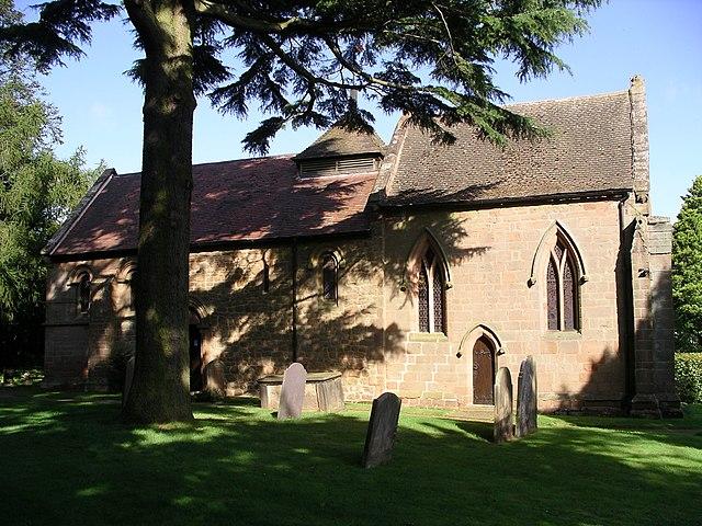 Corley parish church, Corley, North Warwickshire