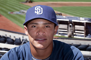 English: Everth Cabrera, shortstop and second ...