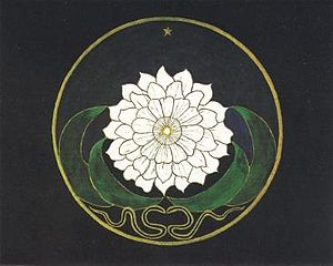 Mandala made by a Jung's unknown patient befor...
