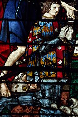 Vitrail de la collégiale Saint-Martin de Montmorency[1]