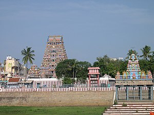 Kapaleeshwarar temple in Mylapore, Chennai.
