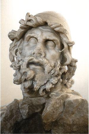 Odysseus. Group of Odysseus blinding Polyphemu...