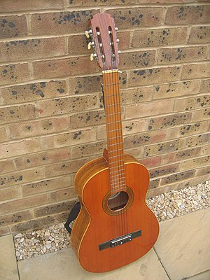 A Spanish guitar (Classical guitar)