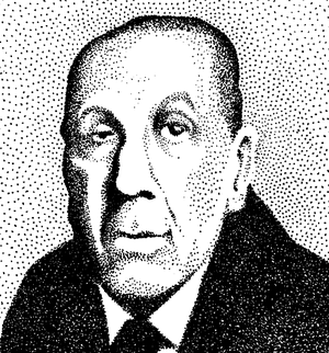 Stippled Borges