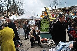 Loc Market Place, Norwich It was so busy down ...