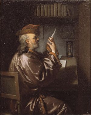 Sharpening a quill