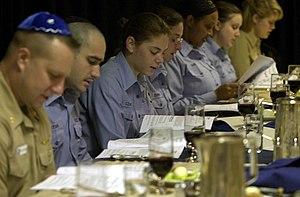 US Navy 030417-N-8273J-010 Crewmembers read fr...