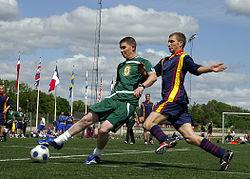 Sepak bola - Wikipedia bahasa Indonesia, ensiklopedia bebas