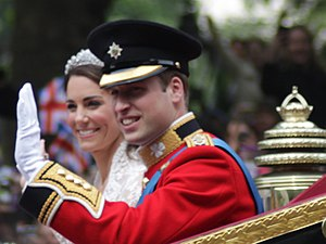 English: Wedding of Prince William of Wales an...