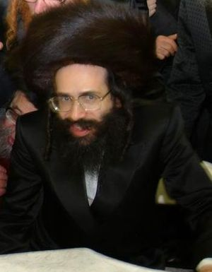 Rabbi Chaim Yehoshua Halberstam, Rebbe of K'ha...