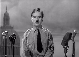 Charlie Chaplin from the end of film The Great...