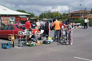 English: Didcot Car Boot sale Didcot Car Boot sale