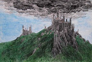 English: Dol Guldur, fortress of the Dark Lord...