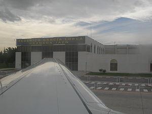 Terminal del aeropuerto de Granada