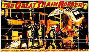 "English: Poster of ""The Great Train Robbe..."