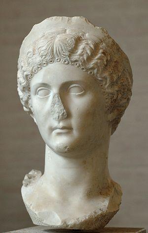 Drusilla (?), sister of Caligula.