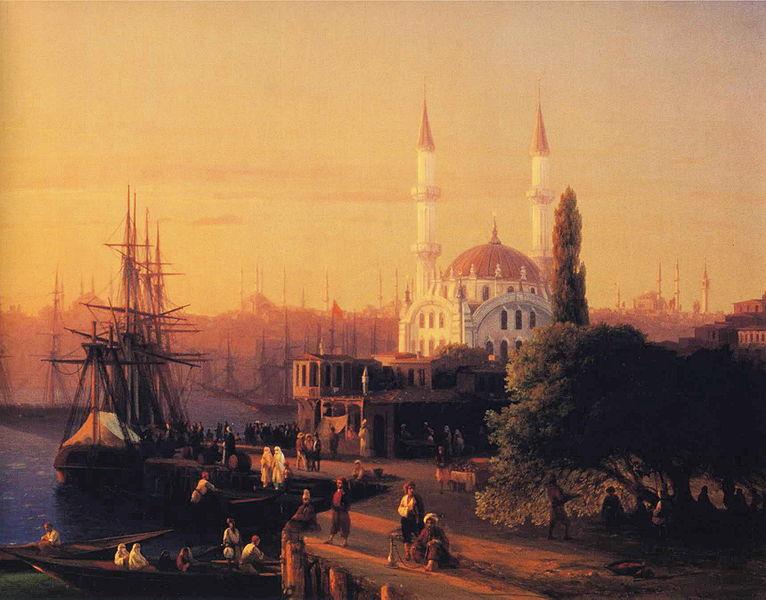 File:Ivan Constantinovich Aivazovsky - Constantinople (detail).JPG