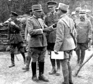 General Count Luigi Cadorna, Italian Chief of ...