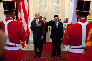 United States President Barack Obama and Indon...