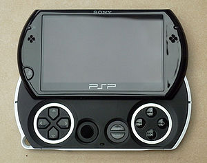 English: PSP Go