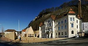 Édifice du gouvernement du Liechtenstein