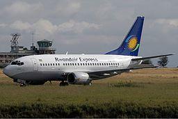 Rwandair Express Boeing 737-500 Mutzair